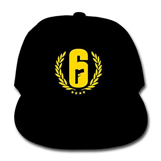 Amazon.com: Rainbow Six Siege Logo Children\'s Baseball Cap.