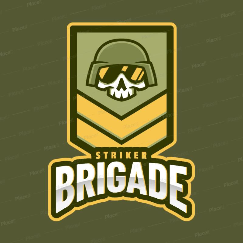 Logo Design Maker for a Militar Game Based on Rainbow Six Siege 2663k.