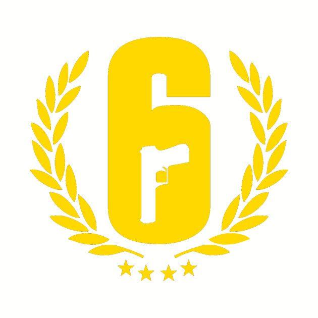 Rainbow Six Siege Logo.