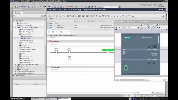 Program your siemens plc by Imanthaahangama.