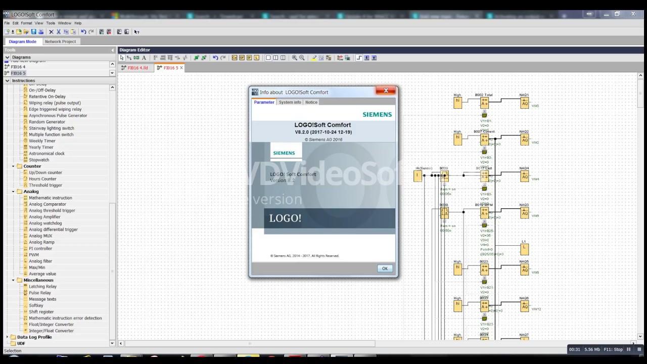 Logosoft comfort V8.2 ladder page size.
