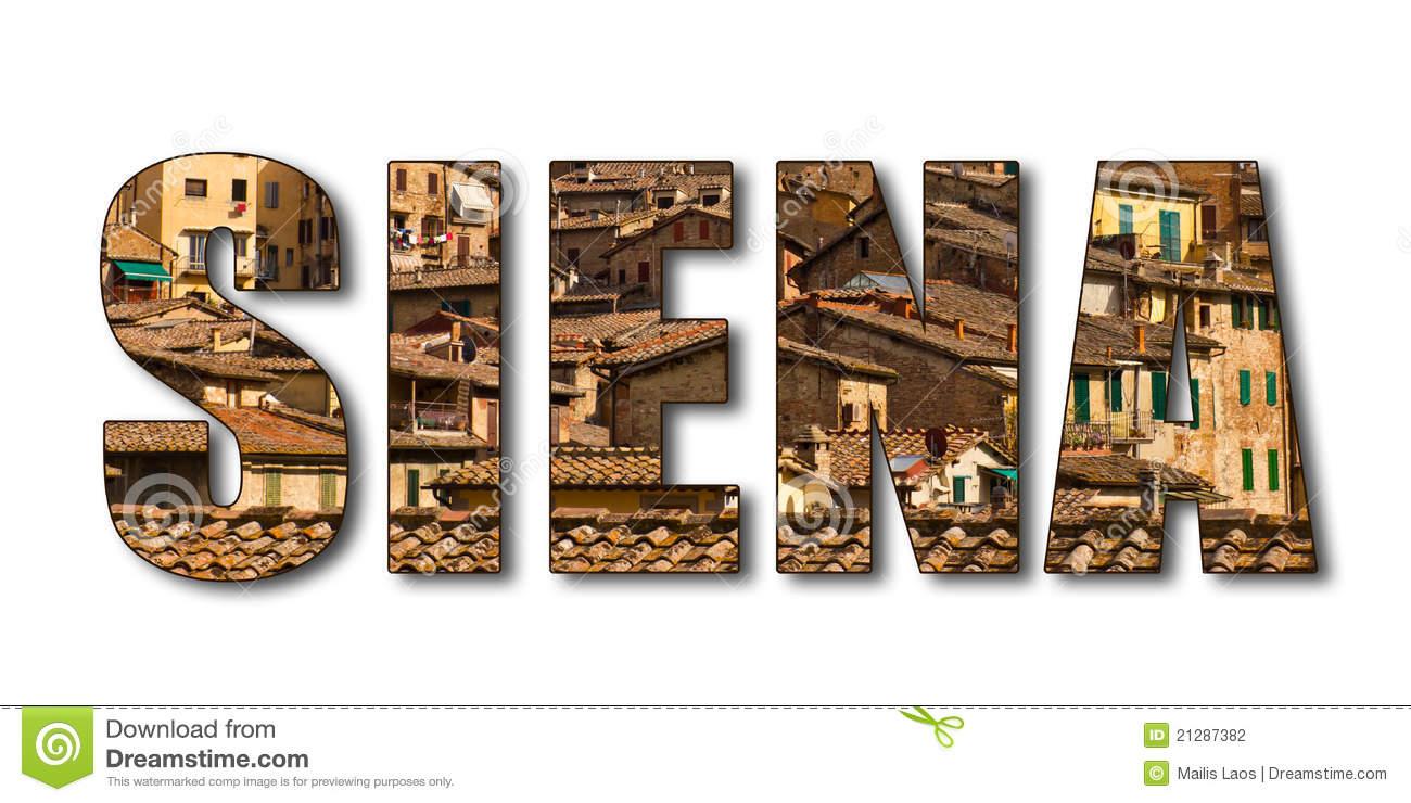 Siena Stock Illustrations.