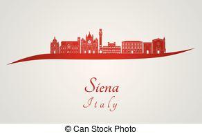 Siena clipart.