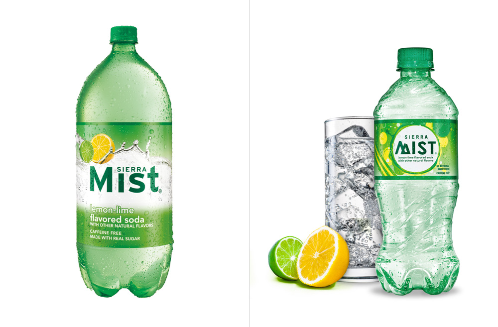 Brand New: New Logo and Packaging for Sierra Mist.
