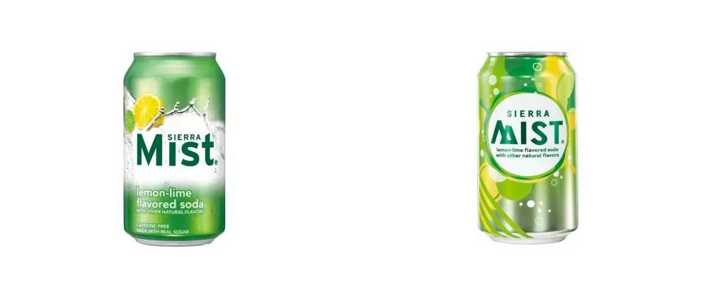 Brand New: New Logo and Packaging for Sierra Mist.