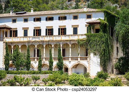 Stock Photographs of Raixa, Mallorca, a public estate in Serra de.