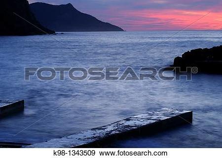 Stock Photograph of Port of Valldemossa, Mallorca Balearic Islands.