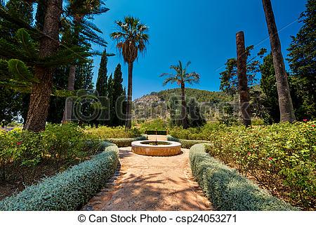 Picture of Raixa, Mallorca, a public estate in Serra de Tramuntana.
