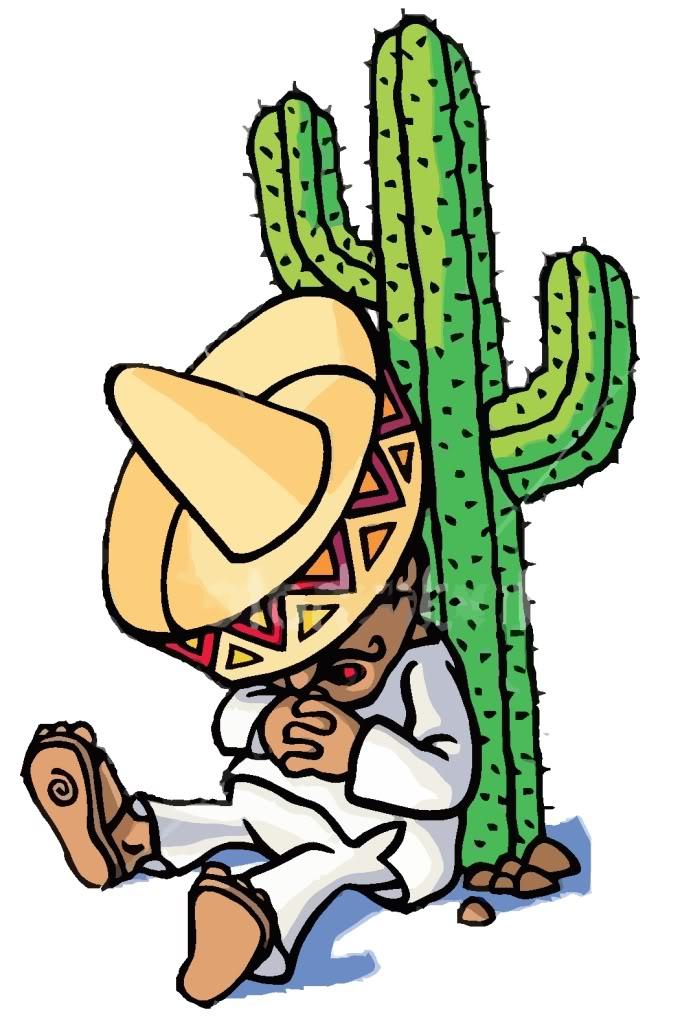 Mexican Siesta Clipart.