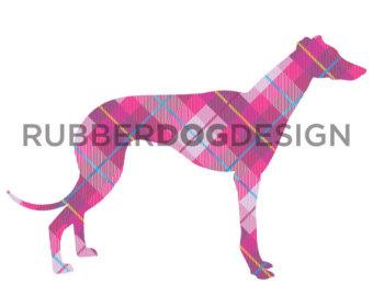 Greyhound clipart.