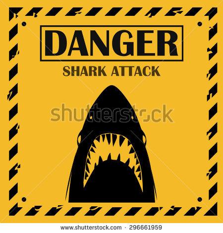 Shark Sighting Stock Photos, Royalty.