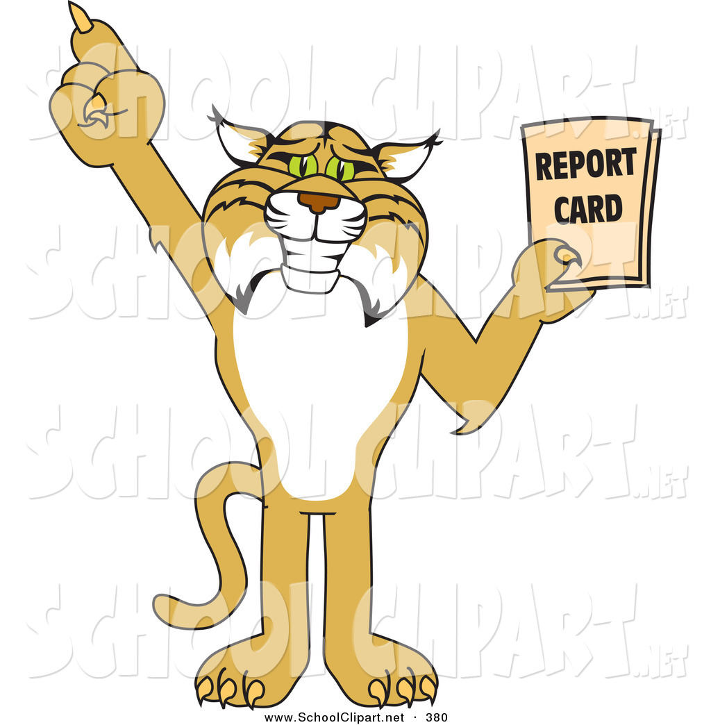 Animal Report Card Clipart.