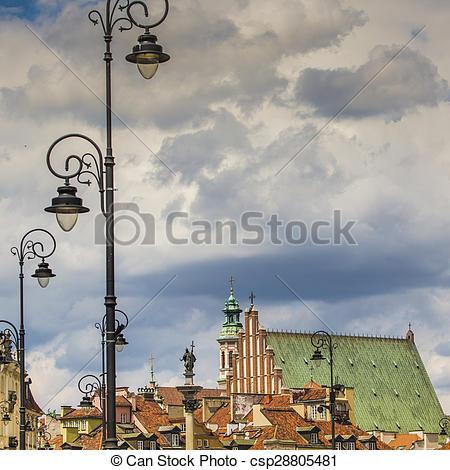 Sigismund's column clipart #16