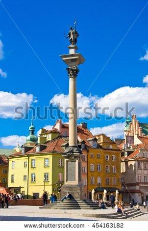 Sigismund's column clipart #13