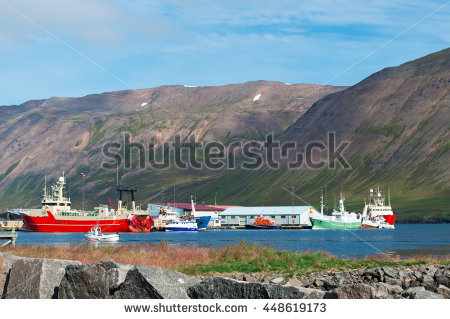 Siglufjordur Stock Photos, Royalty.