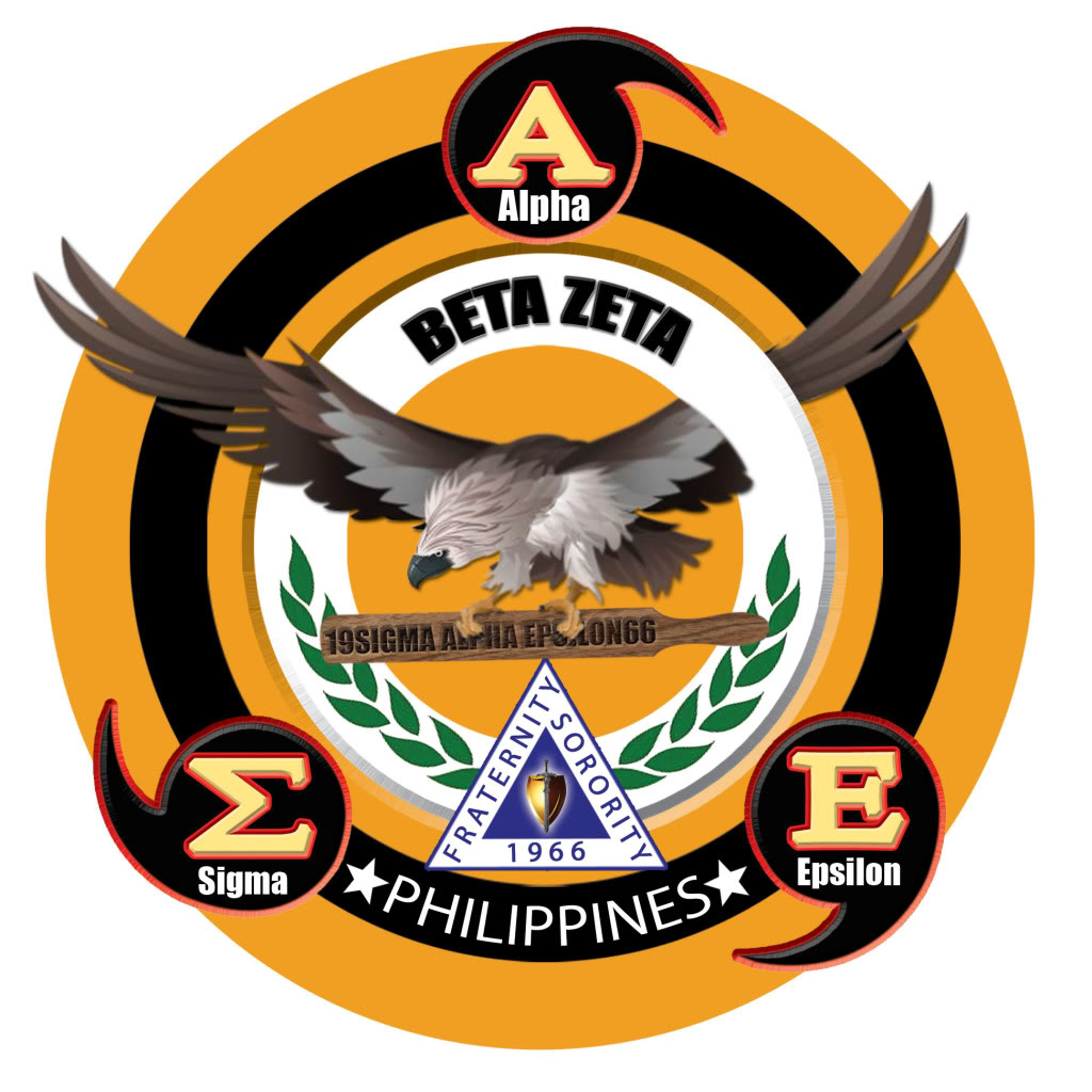 Sigma Alpha Epsilon logo, Beta zeta chapter Philippines.