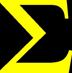 Sigma Yellow Clip Art at Clker.com.