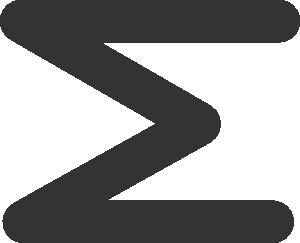 Sigma Sum Symbol Clip Art at Clker.com.