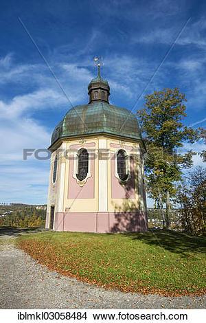 """Stock Photo of """"St. Joseph's Chapel, built in 1629, Sigmaringen."""