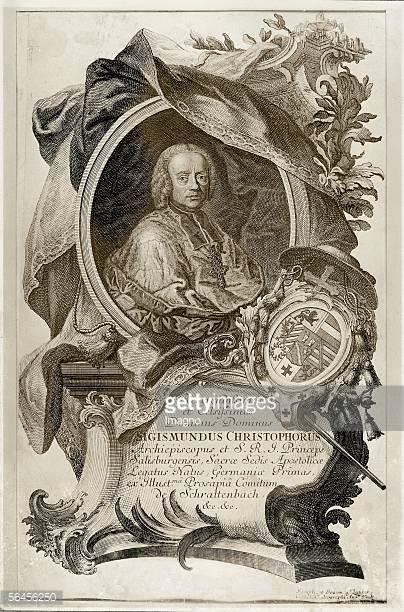 Sigismund Graf Von Schrattenbach Stock Photos and Pictures.