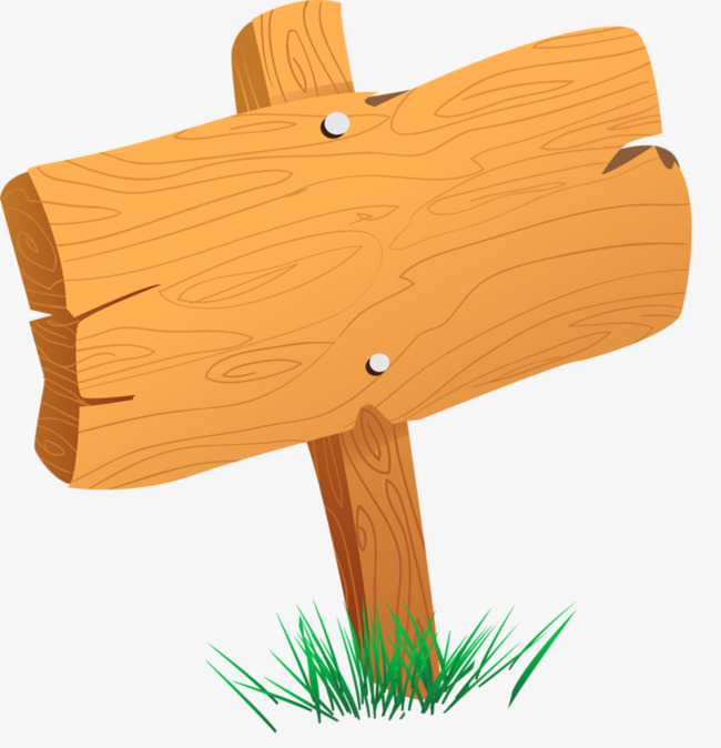 Wood Board Clipart.