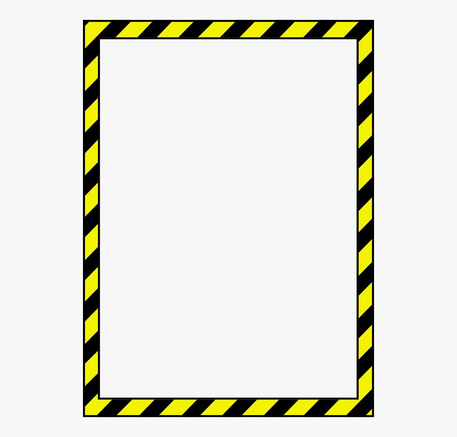 Free Caution Border 2.