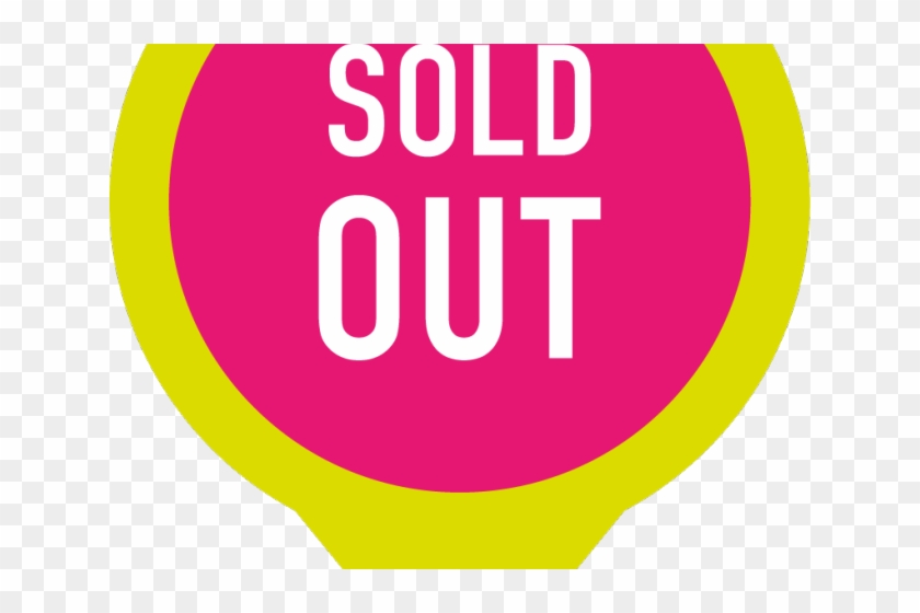 Sold Out Clipart Sign.