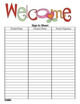 sign in sheet clipart clipground