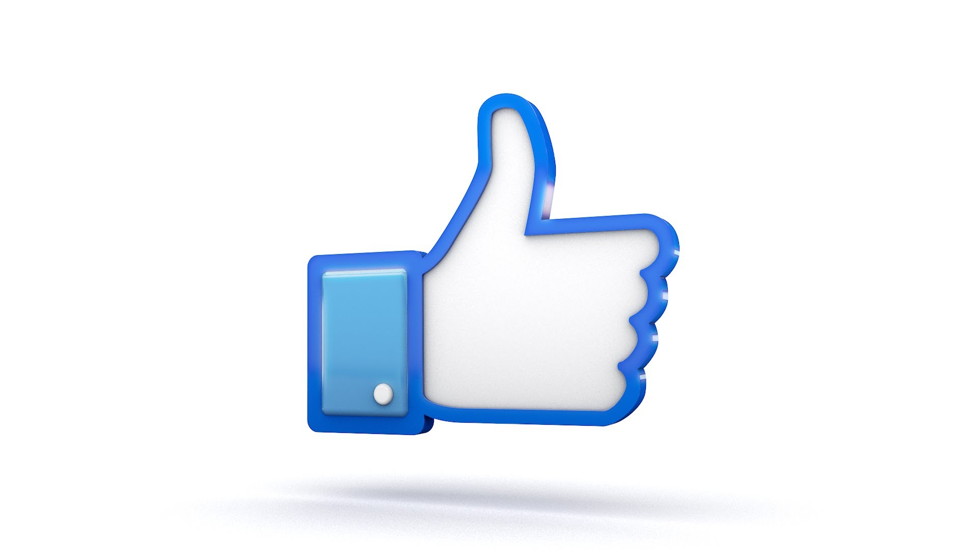 Facebook Thumbs Up Sign.