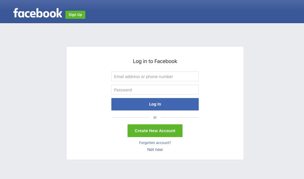 Connect Facebook Publishing Permissions.