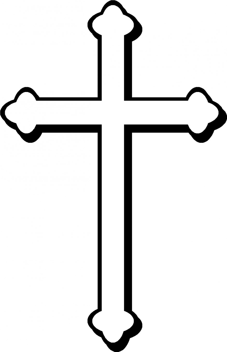 sign of the cross Colouring Pages.