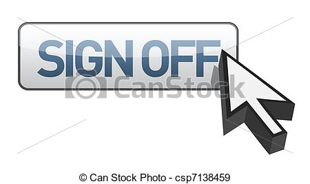 Sign Off Clipart.
