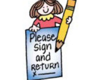 Please Sign Out Clipart.