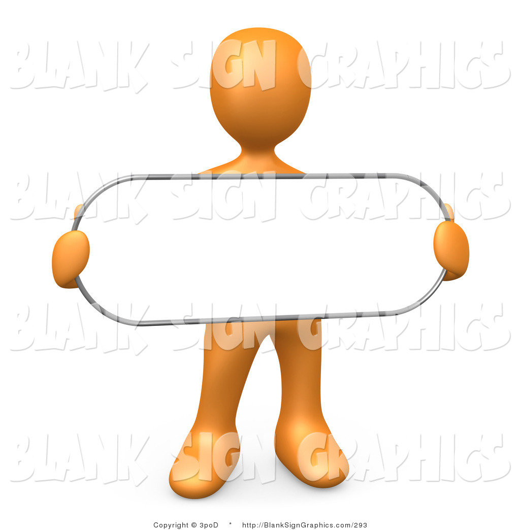 Clipart People Sign.