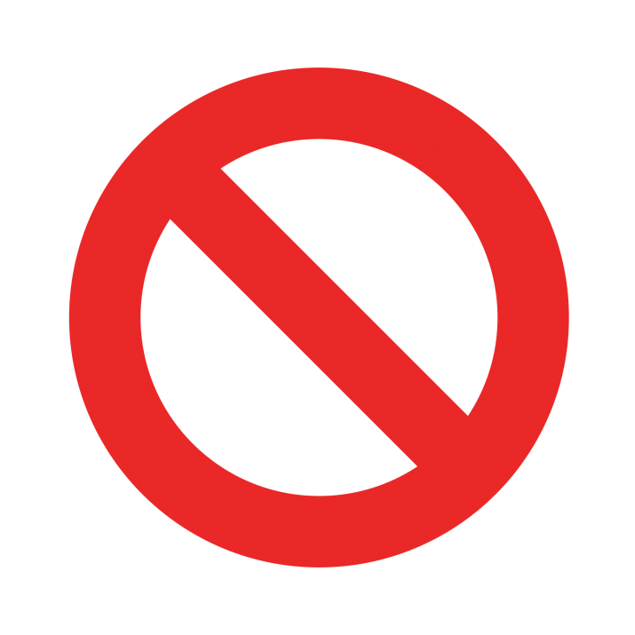 Stop, Blocked, Prohibited Icon PNG Free Download searchpng.com.