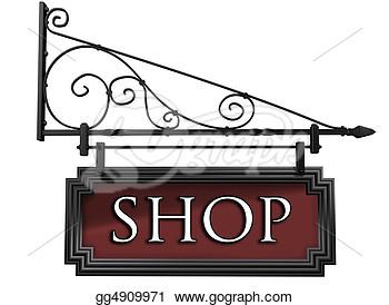 Sign Shop Clipart (54+).