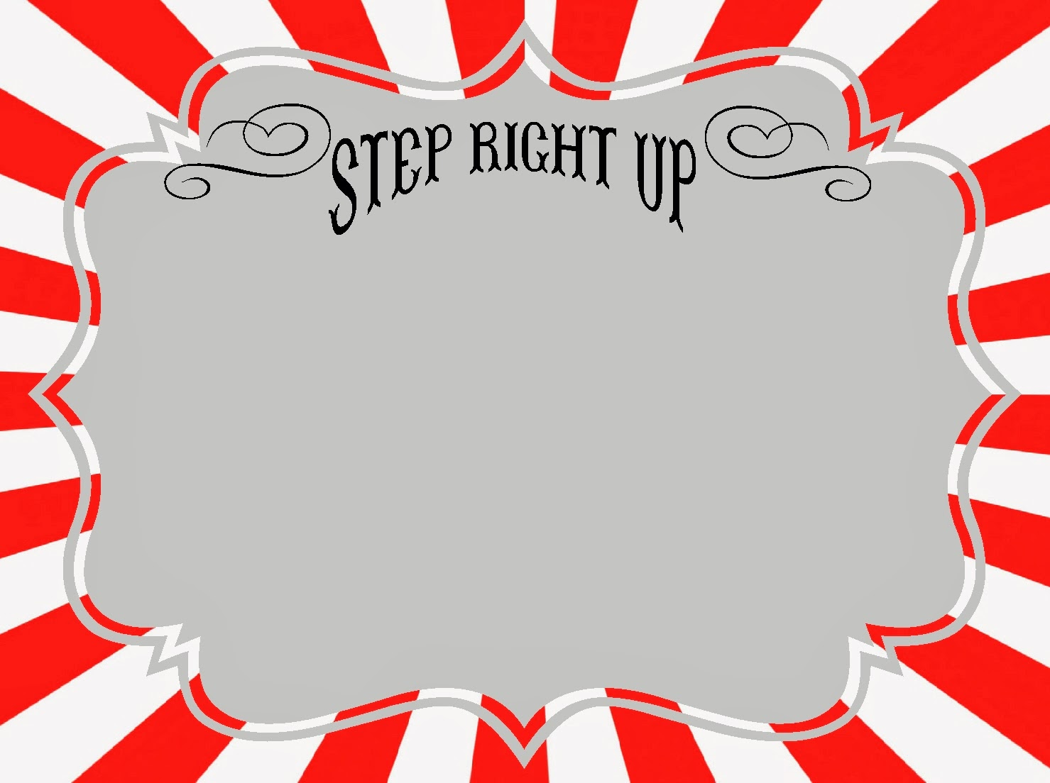 Free sign templates clipart.