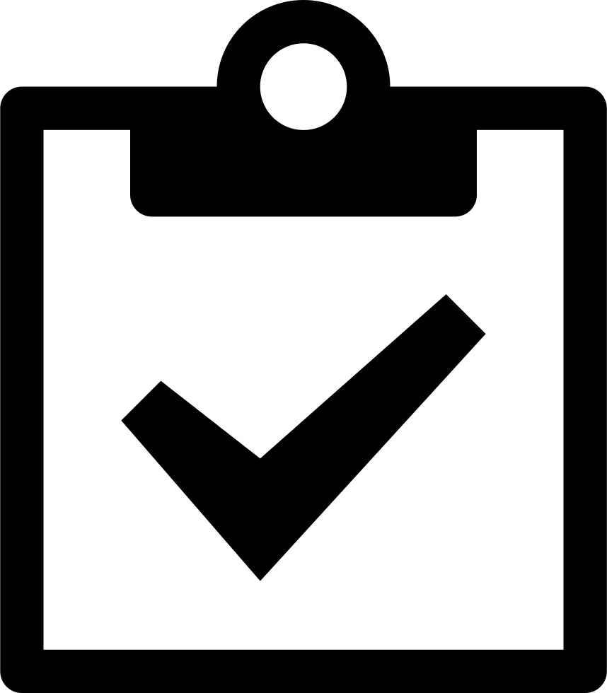 Board Signup Register Agreement Svg Png Icon.