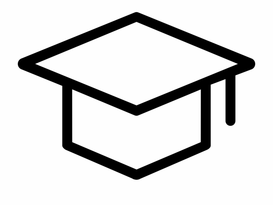 Sign Up Comments Graduation Cap Thin Icon Png.