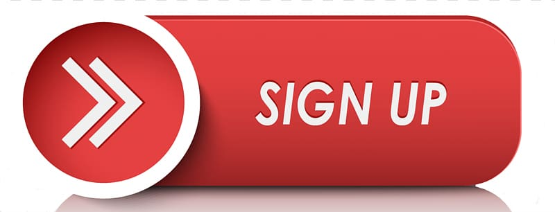 Sign Up illustration, Button Computer Icons , Red Sign Up.