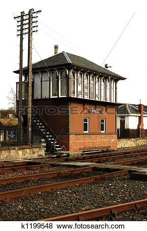 Pictures of Railway Signal Box k1199548.