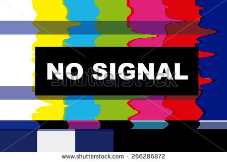 Tv No Signal Stock Photos, Royalty.