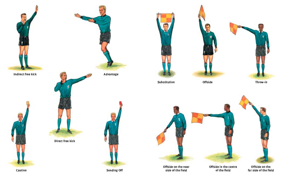 Volleyball Hand Signal Clipart.
