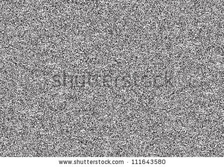 Seamless Texture Noise Effect Television Grainy Stock Vector.