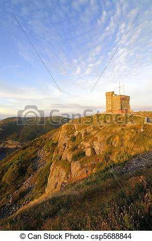 Stock Photo of Signal Hill.