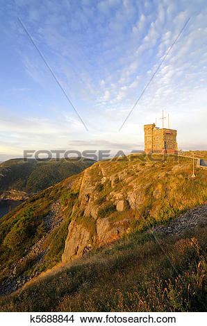 Stock Photo of Signal Hill k5688844.