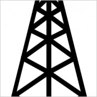 Clipart antenna tower.