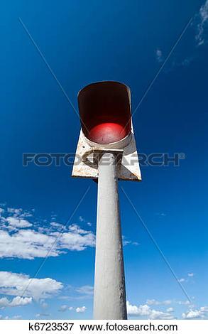 Picture of bridge signal post k6723537.