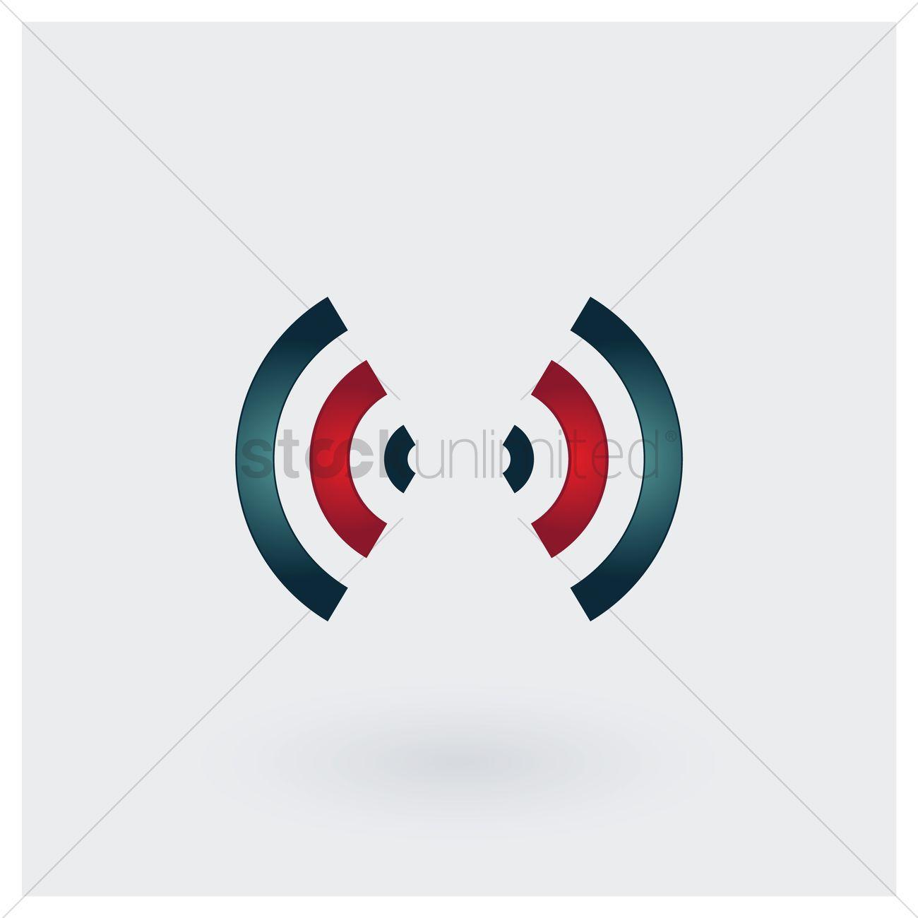 Signal transmission icon Vector Image.
