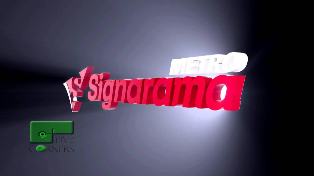 Signarama Logo Animation.